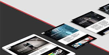 创意形象品牌型网站